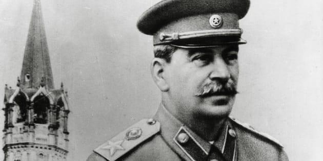 Soviet Communist dictator Joseph Stalin circa 1935