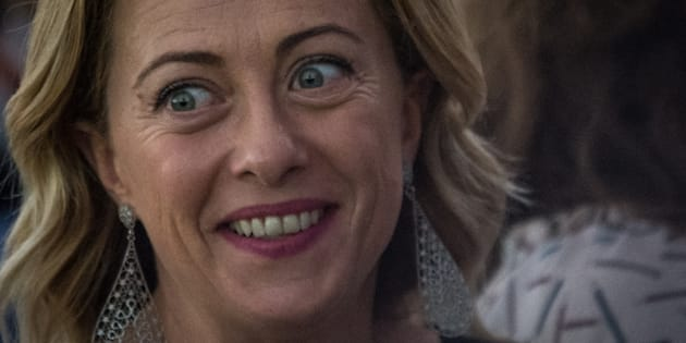 Giorgia Meloni rassicura il governo |   I voti di Fratelli d' Italia a favore del