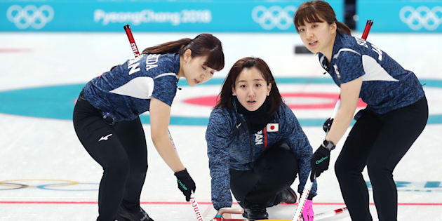 平昌オリンピックに出場したカーリング女子の日本代表