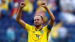 Jouer un quart de finale de Coupe du monde ou assister à l'accouchement de sa femme, ce joueur suédois a