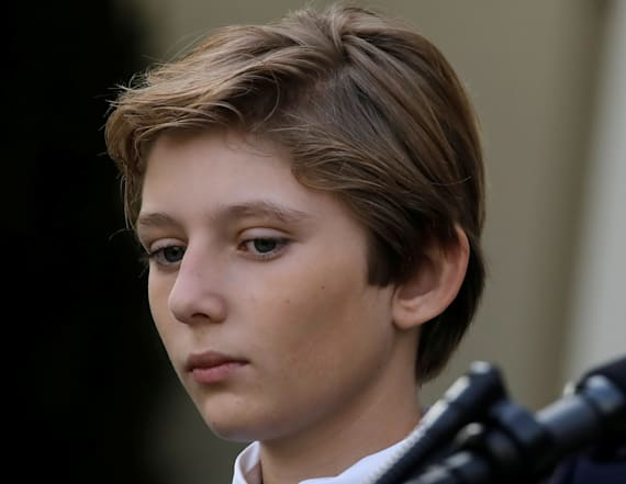 Report: ISIS calls for Barron Trump's assassination