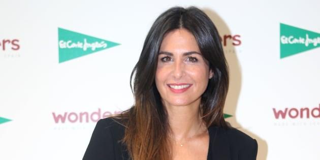 La presentadora Nuria Roca en un acto de la firma Wonders en Madrid.