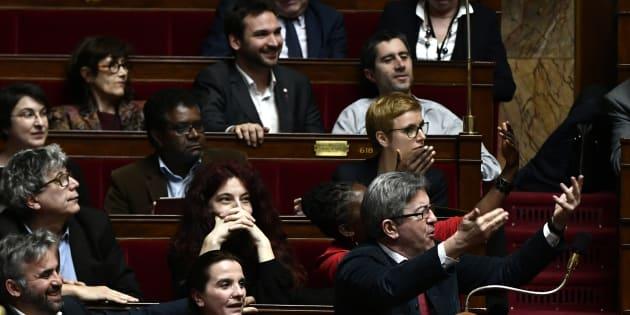 """""""La France est malade de sa démocratie, émancipons l'Assemblée"""", l'appel des députés de la France Insoumise."""