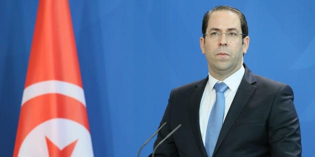 Il primo ministro tunisino Youssef Chahed