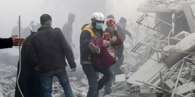 """Non si fermano le bombe di Assad su Ghouta Est. Onu: """"S"""