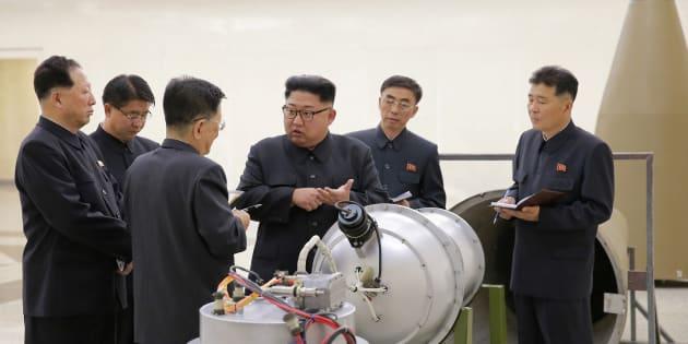 D'une bombe H à une usine de chewing-gum, l'étonnante journée des médias officiels en Corée du Nord