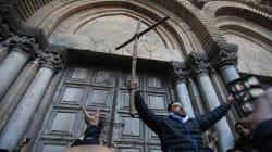 Réouverture du Saint-Sépulcre, après trois jours de bras de