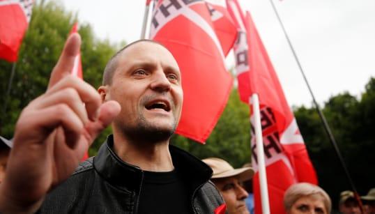 「北方領土を日本に引き渡すのは反対」。モスクワで1月20日に集会。首謀者は反プーチンの活動家
