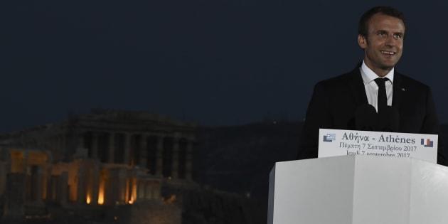 Emmanuel Macron, Président de la Génération Erasmus.