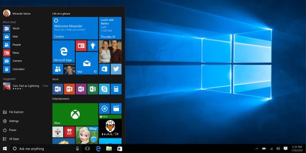 Windows 10 : la mise à jour d'octobre est disponible en téléchargement