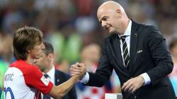 Le président de la Fifa s'étonne de l'absence de Français pour l'élection du meilleur joueur