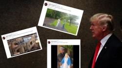 Les vidéos islamophobes retweetées par Trump ne sont pas ce qu'il voudrait faire