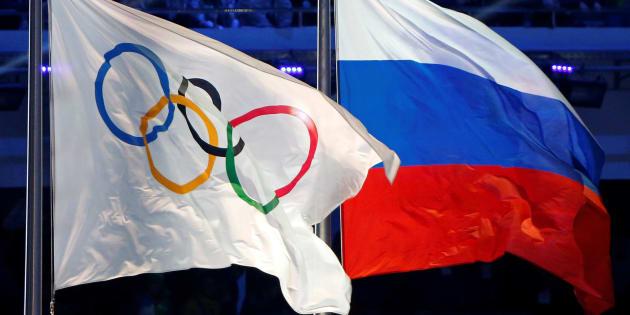 """Jeux olympiques 2018: LaRussie suspendue pour """"dopage institutionnalisé"""" mais ses sportifs autorisés à participer sous drapeau olympique"""