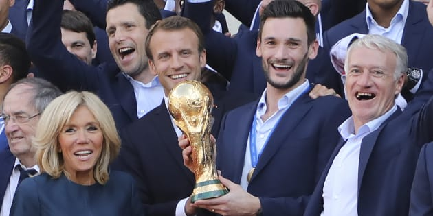 Laura Flessel répond à ceux qui accusent Macron d'avoir accaparé les Bleus après leur titre