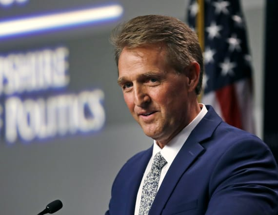Sen. Flake takes a stand on protecting Mueller probe