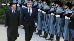 Quando Silvio Berlusconi incontrò Gordon Brown: un'inconcludente storiella