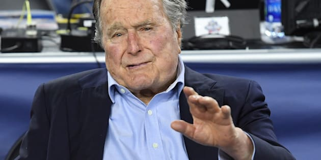 Accusé d'agression sexuelle par une actrice, George H. W. Bush s'excuse