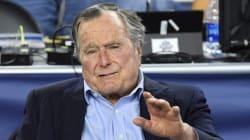 L'ancien président américain George Bush Sr. à nouveau