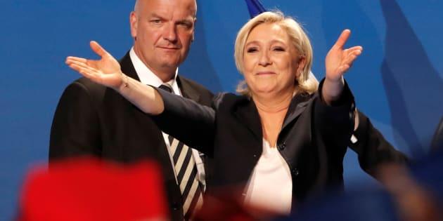 Marine Le Pen à Villepinte