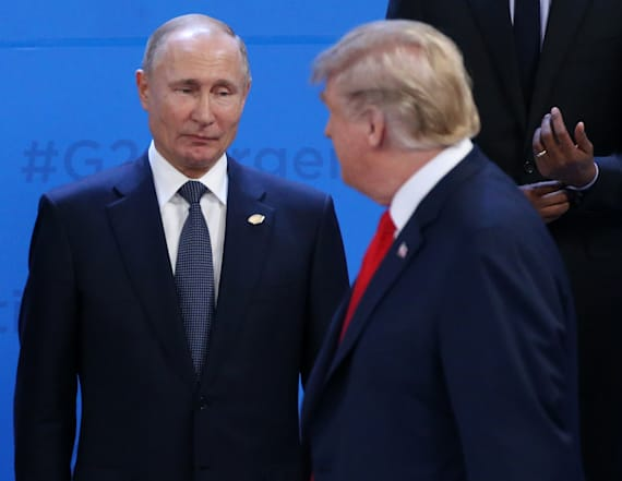 Kremlin: Idea that Trump worked for Russia is stupid