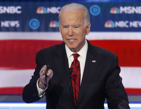 Evidence doesn't back Biden claim about arrest