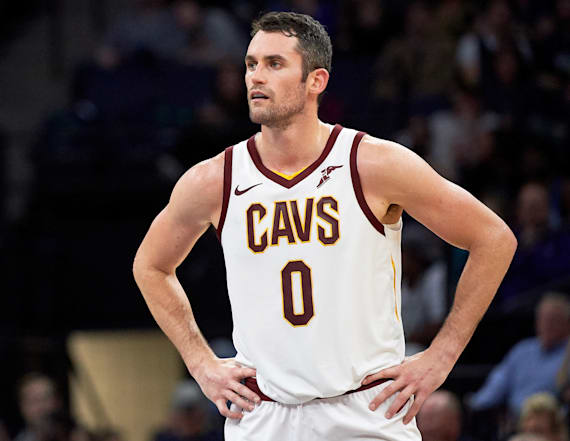 Kevin Love opens up about his 2017 panic attack