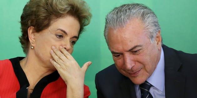 Ministério Público Eleitoral reforçou pedido de cassação da chapa que elegeu em 2014 Dilma Rousseff e Michel Temer.
