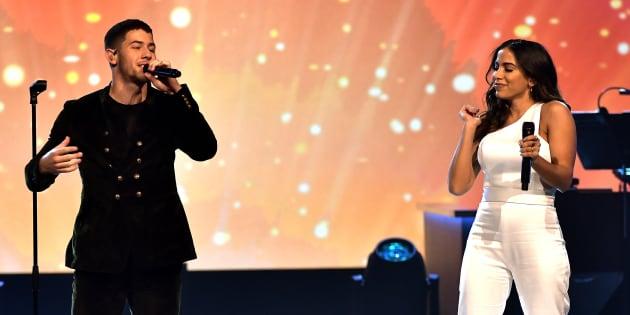 A performance rendeu muitos elogios e homenagens de fãs brasileiros nas redes sociais.
