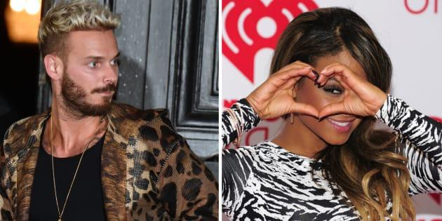 """Le chanteur révélé par """"Popstars"""" et Christina Milian débordent d'amour l'un pour l'autre sur les réseaux sociaux."""