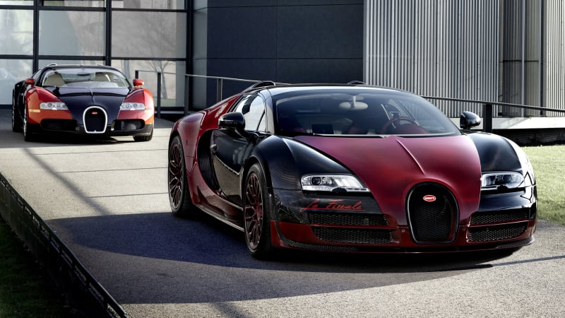 Bugatti Veyron Bids Adieu With The Grand Sport Vitesse La Finale [w/video]    Autoblog