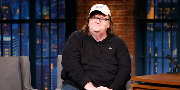 """""""We all lost,"""" Michael Moore tweeted afterRepublicannominee Donald Trump and Democratic nominee Hillary Clinton debated on Monday."""