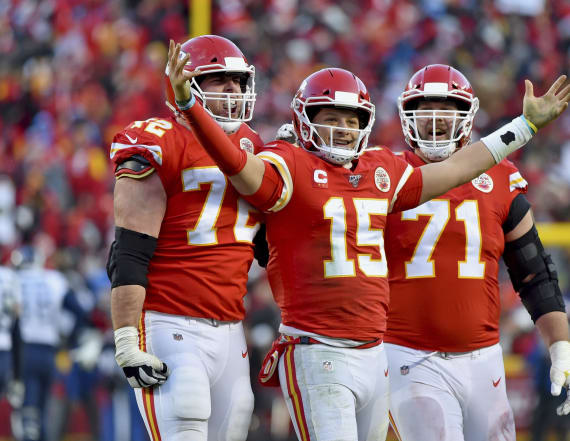 Mahomes leads Chiefs to first Super Bowl in 50 years