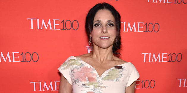 NEW YORK, NY - APRIL 26:  Julia Louis-Dreyfus attends 2016 Time 100 Gala, Time's Most Influential People In The World red carpet at Jazz At Lincoln Center at the Times Warner Center on April 26, 2016 in New York City.  (Photo by Dimitrios Kambouris/Getty Images for Time)