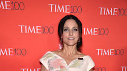 Proud Mom Julia Louis-Dreyfus Cheers On Her Son In Big Ten