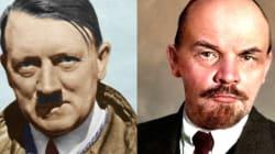 Hitler y Lenin pelean por una