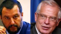 Salvini acusa a España de