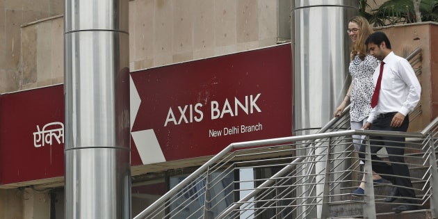 This is the second raid on Axis Bank in Delhi.