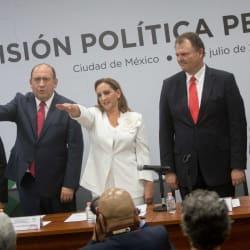 Claudia Ruiz Massieu rinde protesta: no tengo miedo a ser oposición,