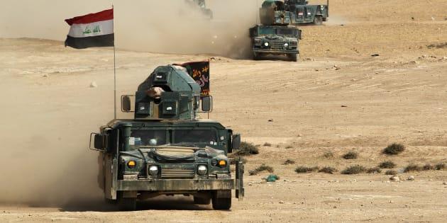 Photo d'illustration: des forces pro-gouvernementales à Mossoul le 27 octobre 2016