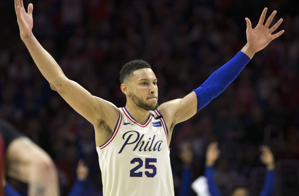 The NBA named Philadelphia 76ers point guard Ben Simmons the league s Rookie  of the Year on Monday at the NBA Awards in Santa Monica 8edc8ed51