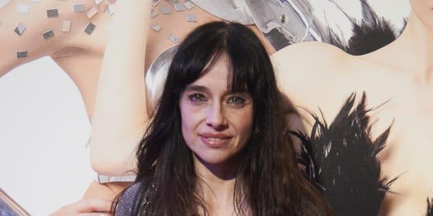 La actriz Beatriz Rico durante la presentación de la obra de teatro 'OhLaLa'.