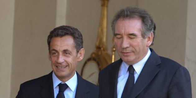 Nicolas Sarkozy demande à François Bayrou de le soutenir s'il bat Alain Juppé à la primaire