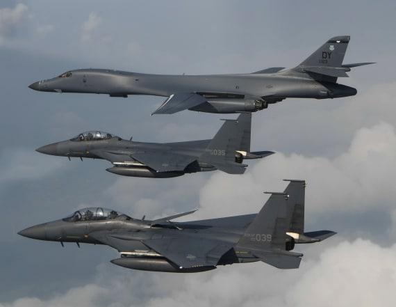 North Korea bolsters defenses after US bomber flight