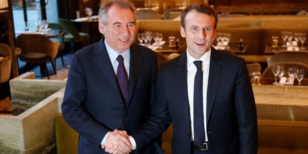 François Bayrou et Emmanuel Macron se sont rencontrés ce jeudi dans un restaurant parisien.