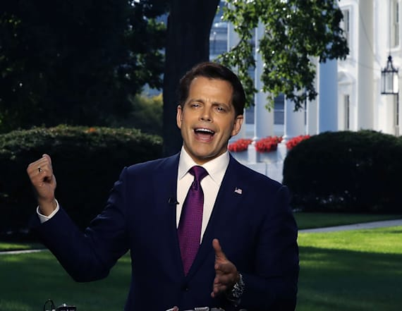 Scaramucci takes feud with Priebus public