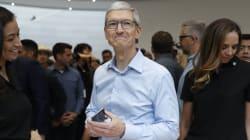 Mais que fait le PDG d'Apple dans la banlieue de