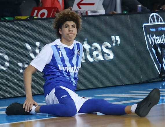 Schools canceling games against LaMelo Ball's team