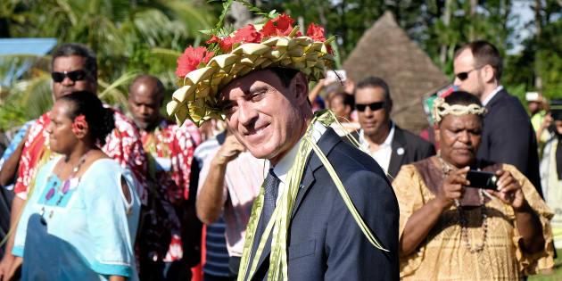 Valls prend la présidence d'une mission sur la Nouvelle-Calédonie et ça n'a rien d'anodin