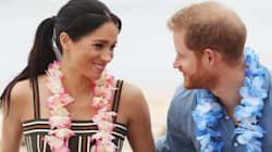 Harry And Meghan Get All Shmoopy On The