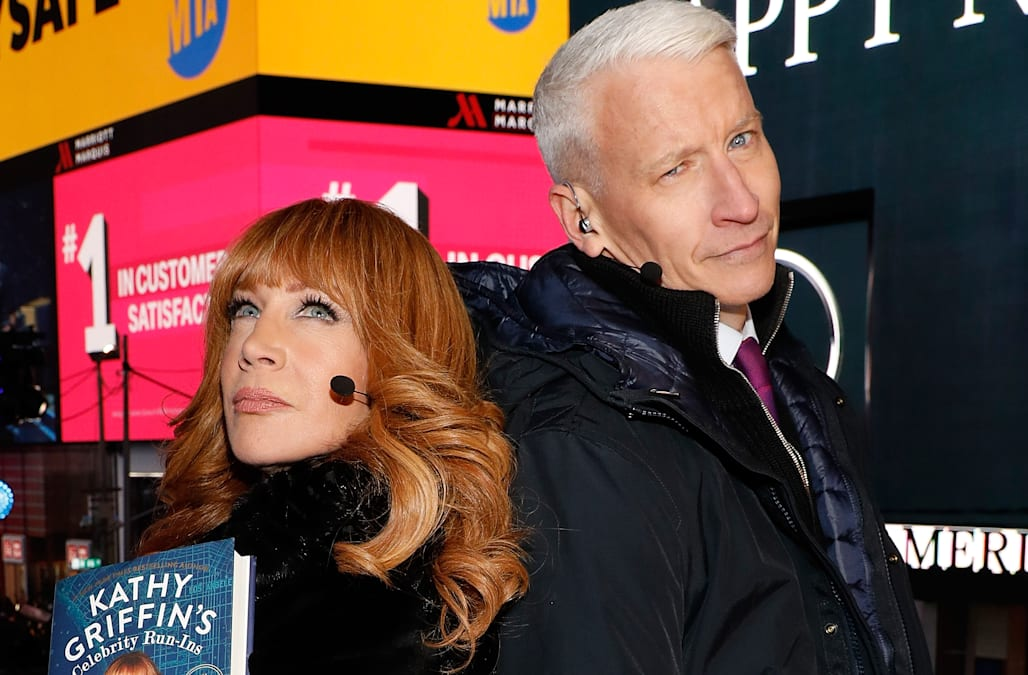 Kathy Griffin makes big reveal about the status of her friendship with  Anderson Cooper